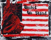 United We Stand- Lady Liberty & Flag