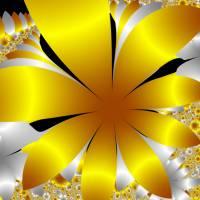 Golden daisy field Art Prints & Posters by Patricia Fatta
