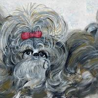 Whimsical Sheba and Friends by Barbara Wilford Gentry