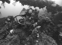 Wreck of the Sankisan Maru, unidentifiable vehicle