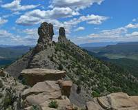 Chimney Rock from the top
