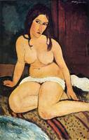 Amedeo Clemente Modigliani Painting 5
