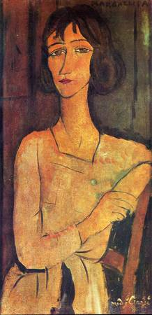Amedeo Clemente Modigliani Painting 9