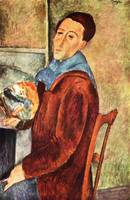 Amedeo Clemente Modigliani Painting 12