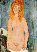 Amedeo Clemente Modigliani Painting 23