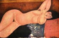Amedeo Clemente Modigliani Painting 38