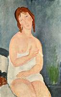 Amedeo Clemente Modigliani Painting 42
