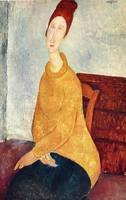 Amedeo Clemente Modigliani Painting 78