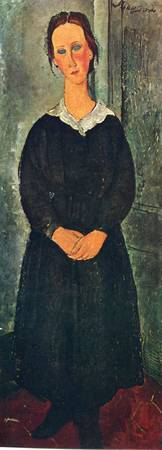 Amedeo Clemente Modigliani Painting 82
