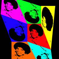 'Kite a-like Michael Jackson' Art Prints & Posters by Daneika March