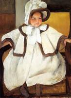 Ellen Mary Cassatt In A White Coat