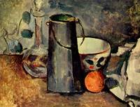 Stilleben by Paul Cezanne