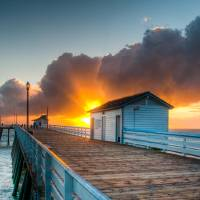 """San Clemente Pier"" by OlaVistaPhotography"