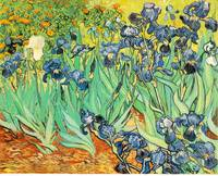 Irises 1 by Vincent Van Gogh