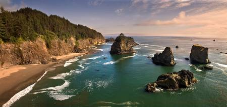 Southern Oregon Coast Panorama