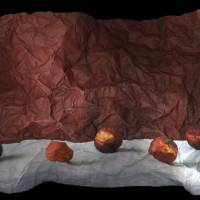 Still Life with Five Nectarines Art Prints & Posters by eckert