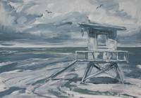 Lifeguard Tower (painting)