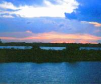 Sunset at Lake Okeechobee7172005:JudyMarisa
