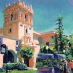 """Ice Cream Cart in Balboa Park, San Diego Art"" by RDRiccoboni"