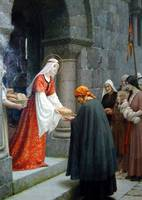 Charity of St Elizabeth by Edmund Blair Leighton