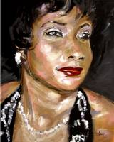 Soul Singer Original Painting by Ginette Callaway