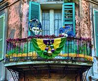 Mardi Gras in the French Quarter