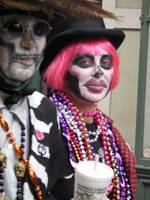Day Of The Dead on Mardi Gras