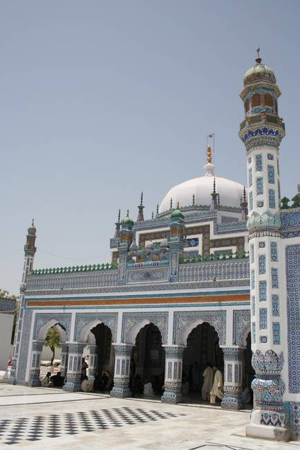 Shrine of Shah Abdul Latif Bhitai