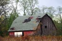 Roof Repair Needed on Aging Barn