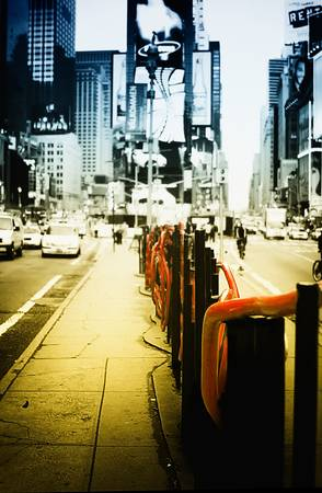 New York New York - Times Square by Dapixara
