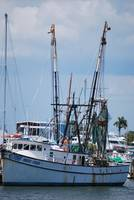 boat in marina - Ft Myers FL