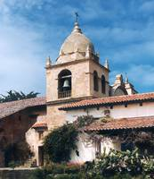 Carmel Mission Tower by WorldWide Archive