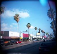 Fairfax Ave - Facing South