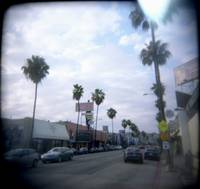 Fairfax Ave - Facing North
