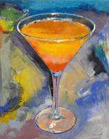 Mango Martini Painting