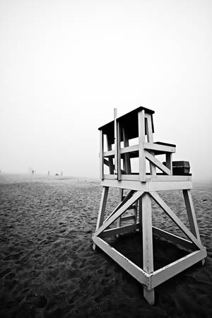 Cape Cod Beach Lifeguard Chair by Dapixara