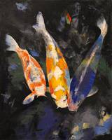 Three Koi Fish