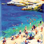 """The Cove, La Jolla California by Rd Riccoboni"" by RDRiccoboni"