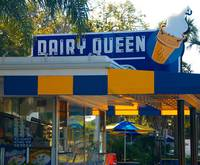Dairy Queen Sign