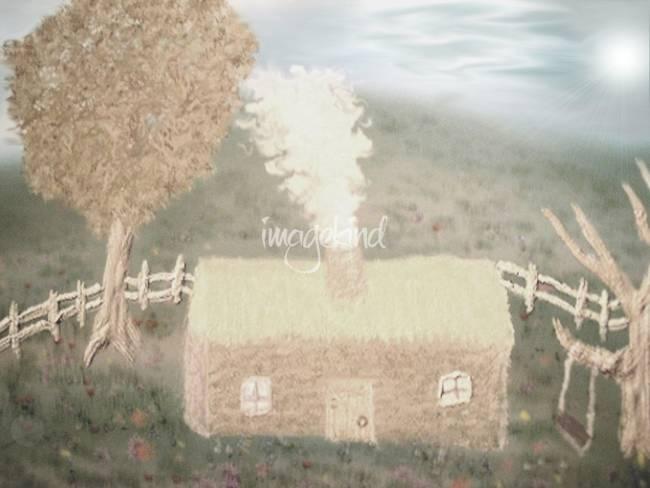 Hazy Cabin