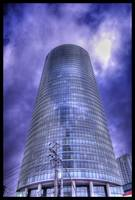 HDR Tower with nice Sky