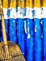 Yellow, White, Blue, Broom, v.2