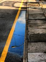 Yellow Line Reflections, v.2