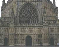 Exeter Cathedral, Mid-Winter 3 by Priscilla Turner
