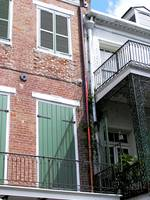 New Orleans Copper Downspout