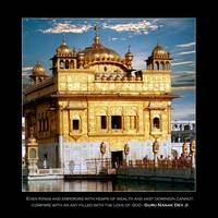 Golden Temple Front - With Quote