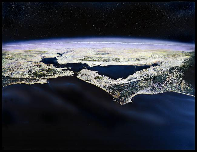 Bay Area from Space