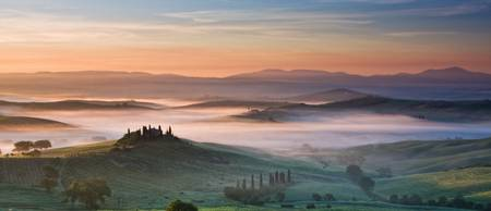 Misty morning at Belvedere