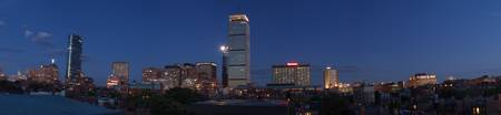 Panoramic of Boston