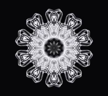 Twisted 1 Solarized Kaleidoscope Art 1